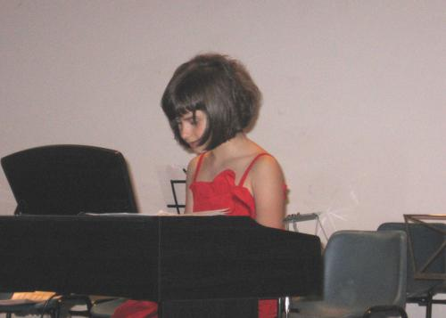 Lezione di pianoforte