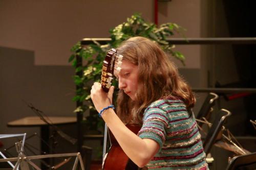 Allieva chitarra